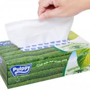 Khăn giấy hộp Puppy trà xanh