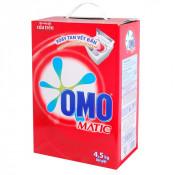 Bột giặt OMO máy giặt cửa trên 4,5kg